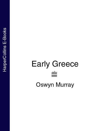 Обложка «Early Greece»