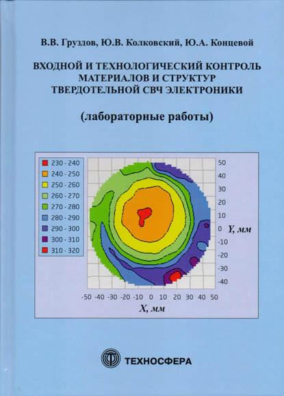 Обложка «Входной и технологический контроль материалов и структур в твердотельной СВЧ-электронике (лабораторные работы)»