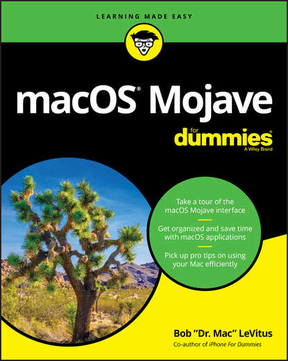 Обложка «macOS Mojave For Dummies»