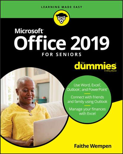 Обложка «Office 2019 For Seniors For Dummies»