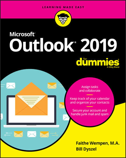 Обложка «Outlook 2019 For Dummies»