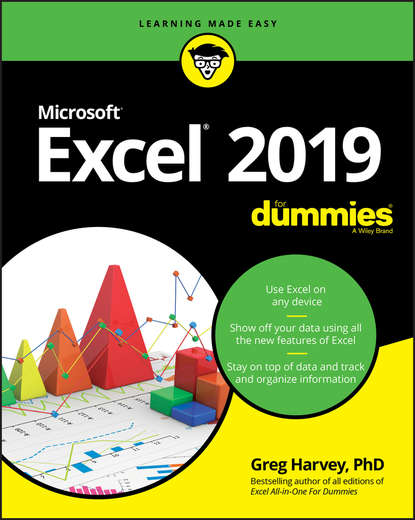Обложка «Excel 2019 For Dummies»