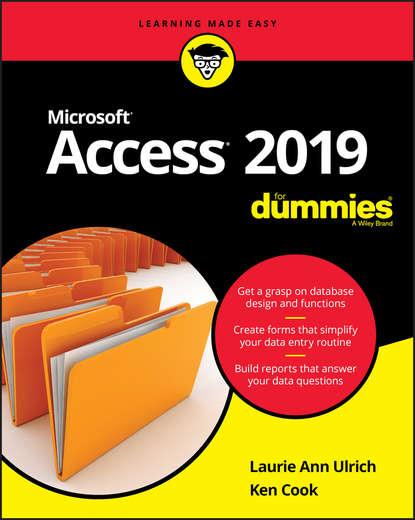 Обложка «Access 2019 For Dummies»