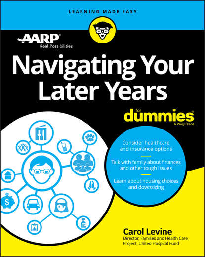 Обложка «Navigating Your Later Years For Dummies»