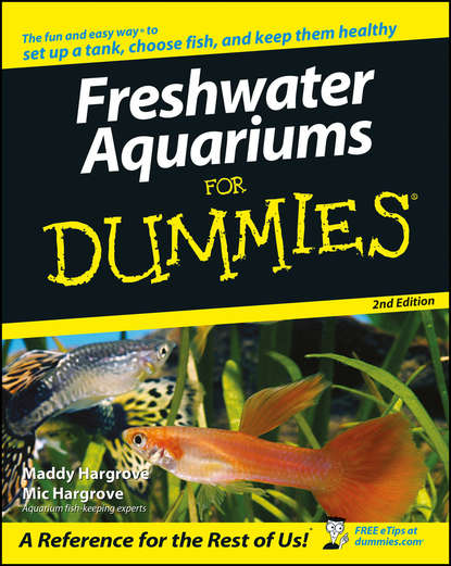 Обложка «Freshwater Aquariums For Dummies»