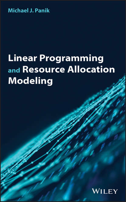Обложка «Linear Programming and Resource Allocation Modeling»