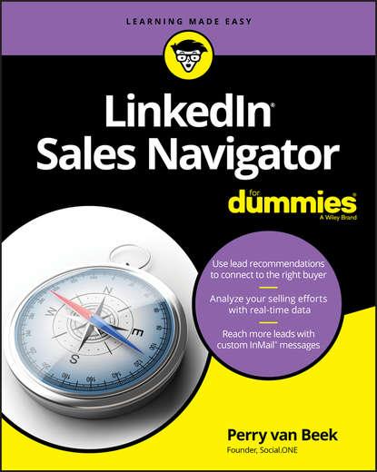 Обложка «LinkedIn Sales Navigator For Dummies»