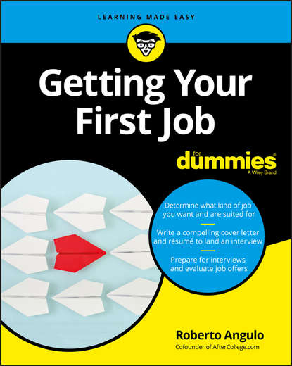 Обложка «Getting Your First Job For Dummies»