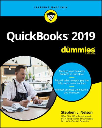 Обложка «QuickBooks 2019 For Dummies»