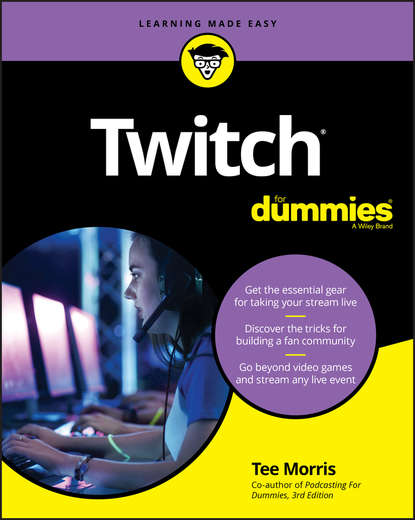 Обложка «Twitch For Dummies»