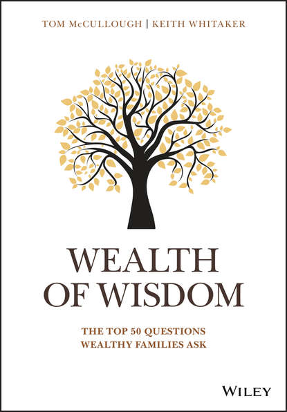 Обложка «Wealth of Wisdom. The Top 50 Questions Wealthy Families Ask»