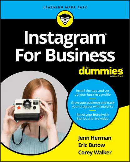 Обложка «Instagram For Business For Dummies»