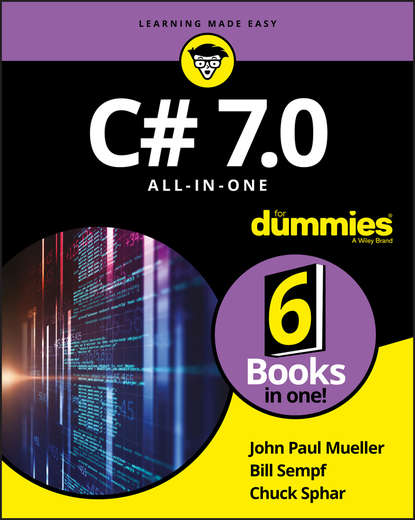 Обложка «C# 7.0 All-in-One For Dummies»