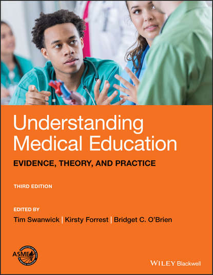 Обложка «Understanding Medical Education. Evidence, Theory, and Practice»