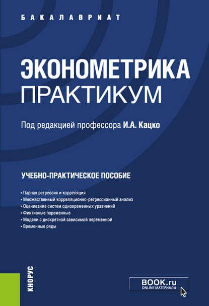 Обложка «Эконометрика. Практикум»