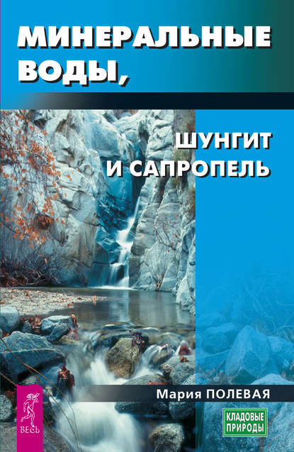 Обложка «Минеральные воды, шунгит, сапропель. Как лечиться при помощи минералов?»