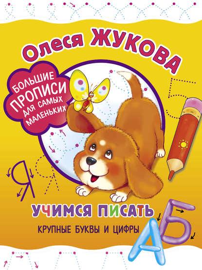 Обложка «Учимся писать крупные буквы и цифры»