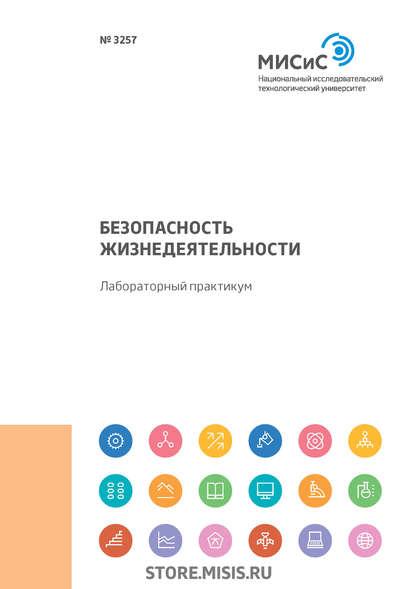 Обложка «Безопасность жизнедеятельности. Лабораторный практикум. Работы 9-14»