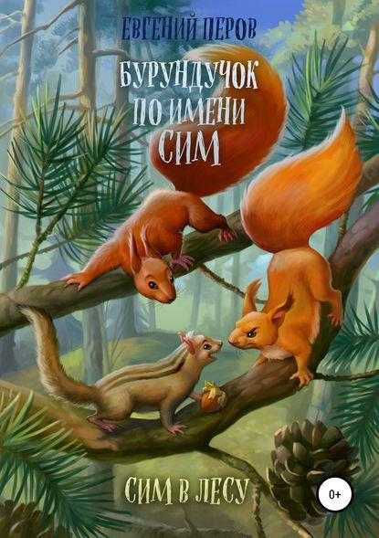 Обложка «Бурундучок по имени Сим. Сим в лесу»