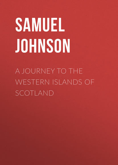 Обложка «A Journey to the Western Islands of Scotland»