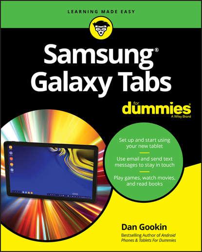 Обложка «Samsung Galaxy Tabs For Dummies»