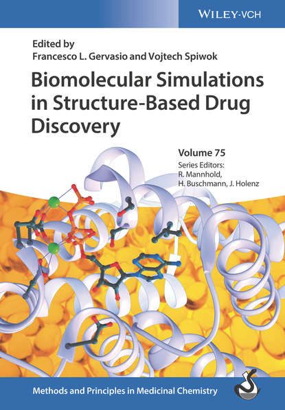 Обложка «Biomolecular Simulations in Structure-Based Drug Discovery»