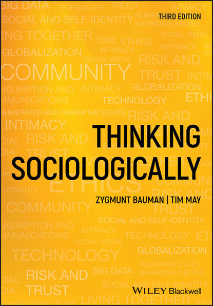 Обложка «Thinking Sociologically»