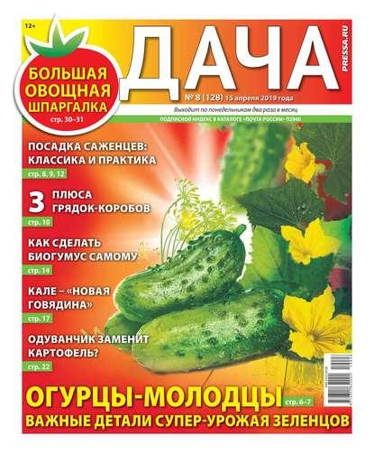 Обложка «Дача Pressa.ru 08-2019»