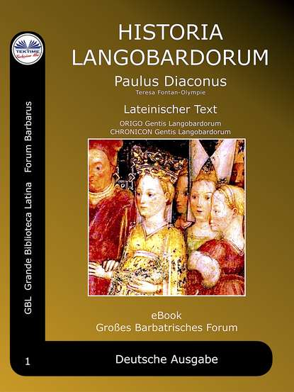 Обложка «Historia Langobardorum»