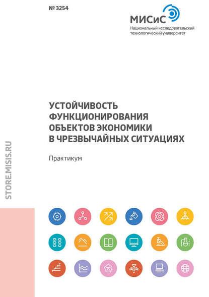 Обложка «Устойчивость функционирования объектов экономики в чрезвычайных ситуациях»
