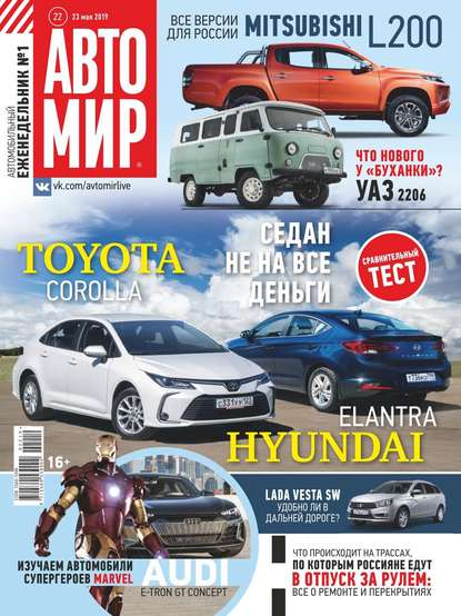 Обложка «Автомир 22-2019»