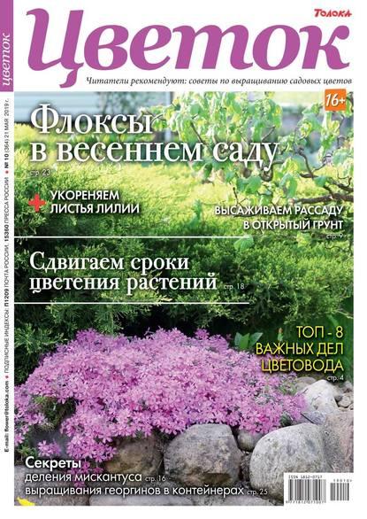 Обложка «Цветок 10-2019»