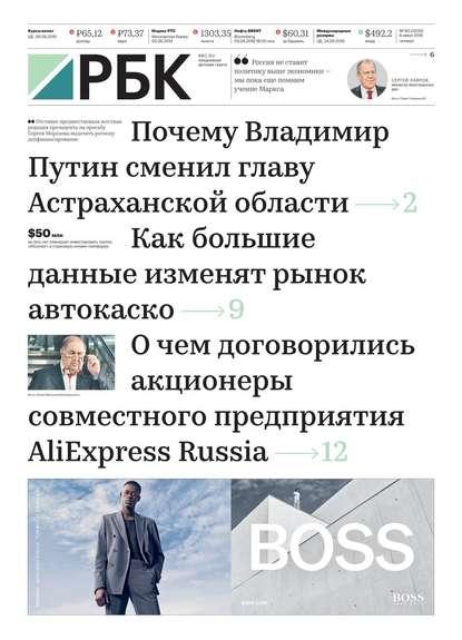 Обложка «Ежедневная Деловая Газета Рбк 80-2019»