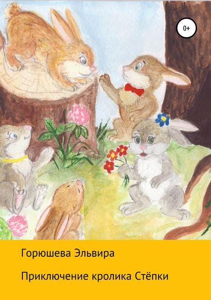 Обложка «Приключения кролика Стёпки»