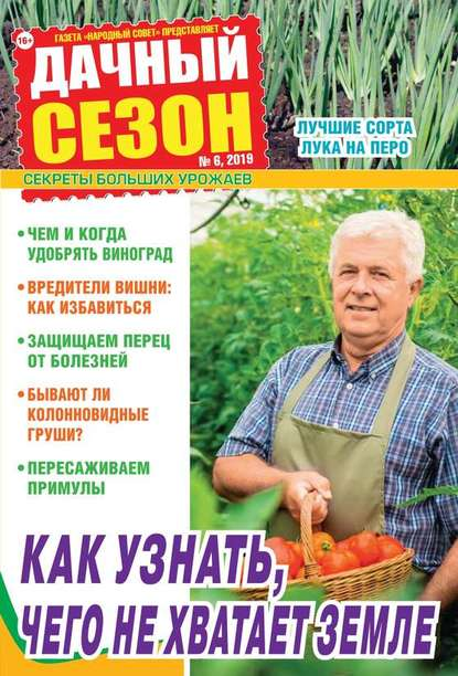 Обложка «Дачный Сезон – Советы Читателей 06-2019»