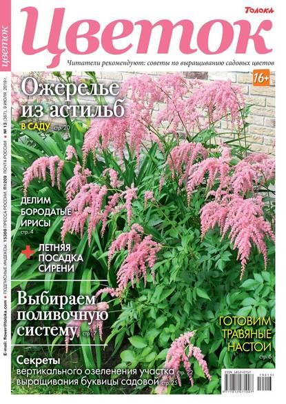 Обложка «Цветок 13-2019»