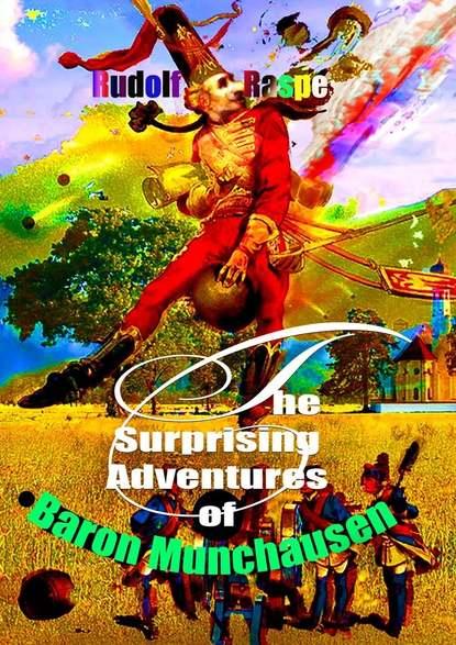 Обложка «The Surprising Adventures ofBaron Munchausen»